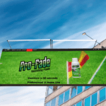 Pro-fade website displaye don a bill board