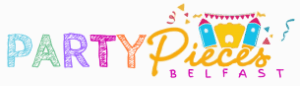 Logo Designed for Party Pieces Belfast